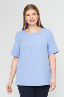 """Блуза """"Лина"""" 1127 (Голубой)"""