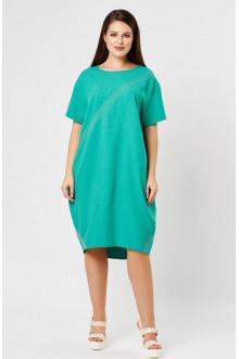 """Платье """"Лина"""" 52141 (Зеленый)"""