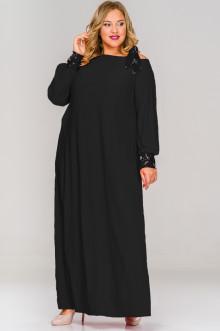 Платье 1517501 ЛаТэ (Черный)
