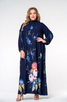 Платье 140207 ЛаТэ (Мультиколор)