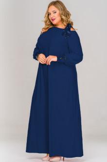 Платье 1517502 ЛаТэ (Темно-синий)