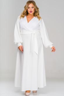 Платье 1517401 ЛаТэ (Белый)