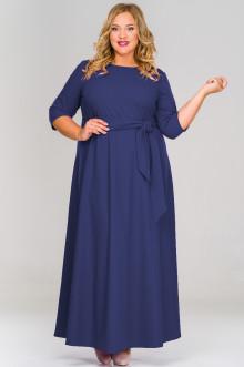 Платье 1518402 ЛаТэ (Темно-синий)
