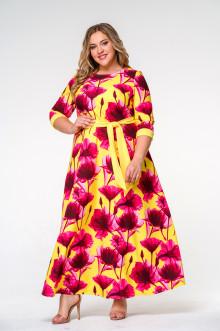 Платье 145608 ЛаТэ (Мультиколор)