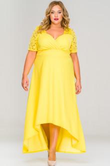 Платье 159405 ЛаТэ (Желтый)