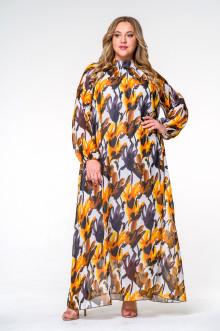 Платье 140208 ЛаТэ (Мультиколор)