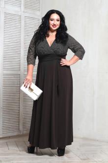 Платье 066801 ЛаТэ (Черный)