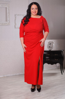 Платье 043202 ЛаТэ (Красный)