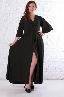 Платье 078401 ЛаТэ (Черный)