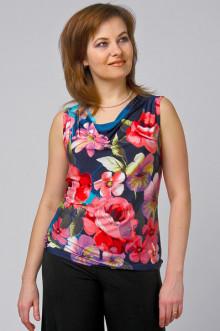 """Блуза """"СКС"""" 055 (Цветы)"""