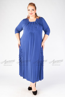 """Платье """"Артесса"""" PP23607BLU08 (Синий)"""